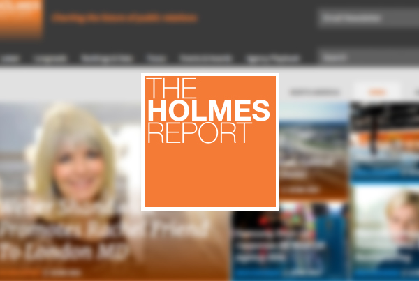 The Holmes Report | Website